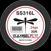 Damselfly SS316L Clapton Wire 24GA 0.5mm 30ft