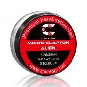 Coilology Micro Clapton Alien Coil Set 2PC/Box