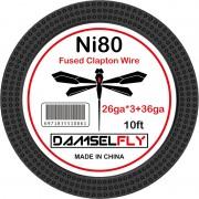 Damselfly clapton Ni80 Wire 26GA*3+36GA