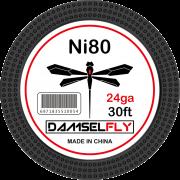 DAMSELFLY Ni80 Fused Clapton 24GA 0.5mm 30ft