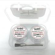 Damselfly Ni80 Fused Clapton Coil (26GA*2+28GA*3+40GA) 10pcs