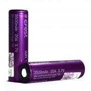 Efest 18650 3500mAh Flat Top Purple 20A 3.7V IMR Battery