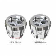 Eleaf HW-M/HW-N Dual Coil Head 0.2ohm 0.25ohm 5pcs/pack