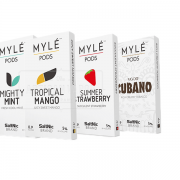 MYLE Replacement Pod 0.9ml/20mg 4pcs/pack