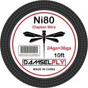 Damselfly Fused Clapton Wire 24GA+36GA 10ft