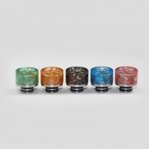 510 Colorful Stainless Steel Wide Bore Drip Tip