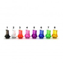 510 Plastic Flat Mouth Drip Tip