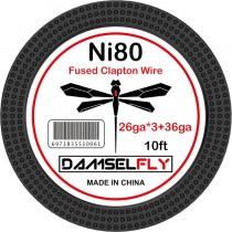 Damselfly clapton Ni80 Wire