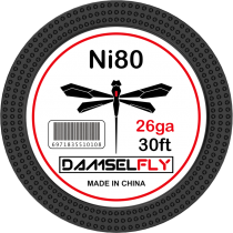 DAMSELFLY Ni80 Fused Clapton 26GA 0.4mm 30ft