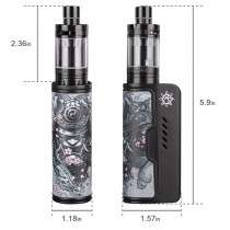 Dovpo Rogue 100W TC Kit with Freemax Starre Pure Tank