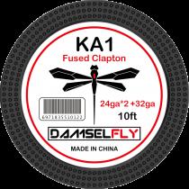 Damselfly KA1 Fused Clapton 24ga*2(=)+32ga