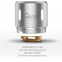 OBS Damo M6 Replacement Coil 0.2ohm 5pcs/pack