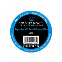 Vandy Vape Superfine MTL Fused Clapton Wire