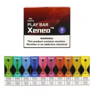 Xeneo PLAY BAR 800PUFFS Disposable Kit 20PCS