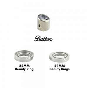 BP MODS Damascus Button/Beauty Ring