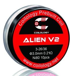 Coilology Alien V2 Prebuilt Coils 10PCS/BOX