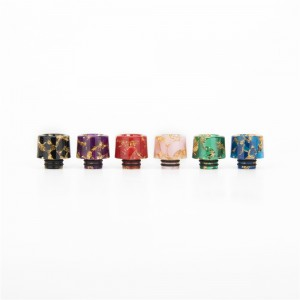 AS177 510 Resin Drip Tip With Starry Sky