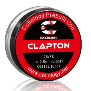 Coilology Clapton Prebuilt Coils 10PC/Box