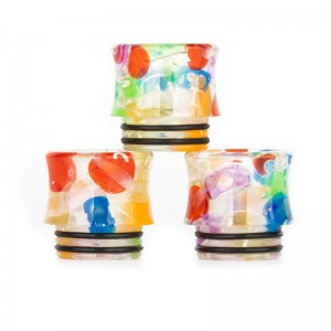 AS214 Fushion-Resin 810 Drip Tip With Letter Pattern