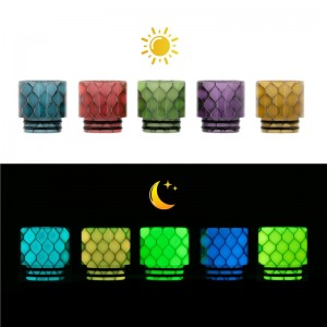 AS249Y Honeycomb 810 Drip Tip With Night-Luminous