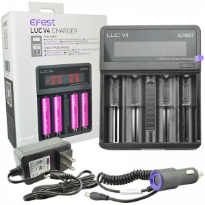 Efest LUC V4 LCD Li-ion Battery Charger