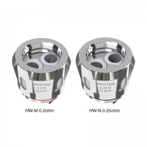 Eleaf HW-M/HW-N Dual Coil Head 0.2ohm 0.25ohm 5pcs/pack