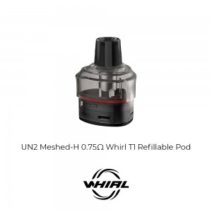 Uwell Whirl T1 Refillable Pod 0.75ohm 2pcs (CRC Version)