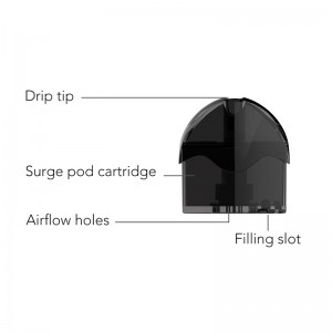 HugsVape Surge Replacement Pod Cartridge 6ml 1pc