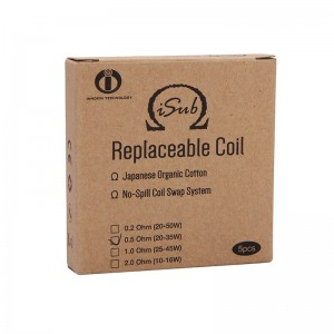 Innokin iSub Replacement Coil Head TPD Version 5pcs
