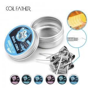 Coil Father King Ni80 Ni90 Coils 10pc