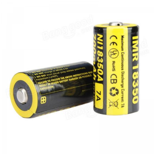 NITECORE 18350 Battery Rechargeable Batteries