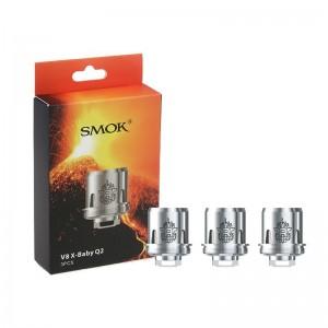 SMOK V8 X-Baby Q2 0.4ohm Coil TPD Version 3PCS