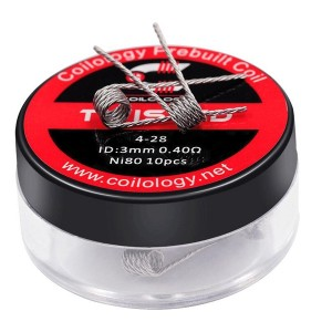 Coilology Twisted Prebuilt Coils 10PC/Box