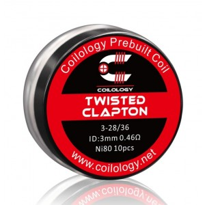 Coilology Twisted Clapton Prebuilt Coils 10PC/Box