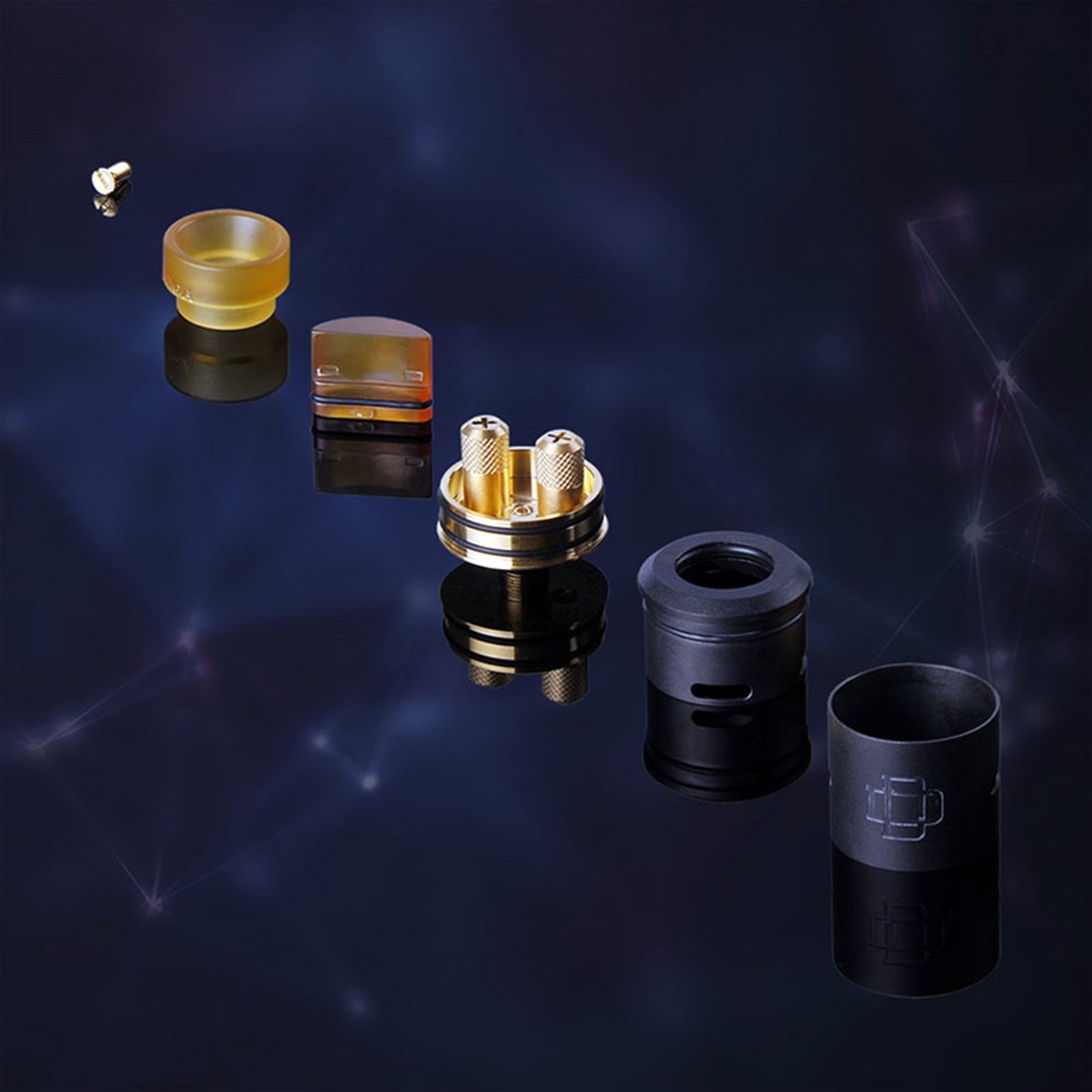 AUGVAPE Druga 22 Squonk Kit Features