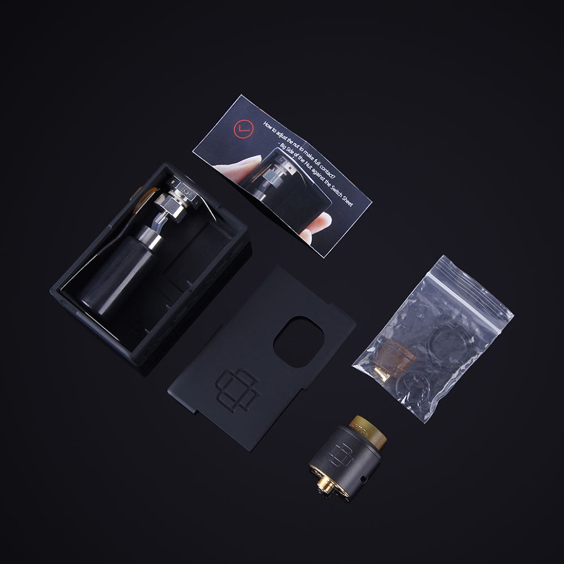 AUGVAPE Druga 22 Squonk Kit Packing List