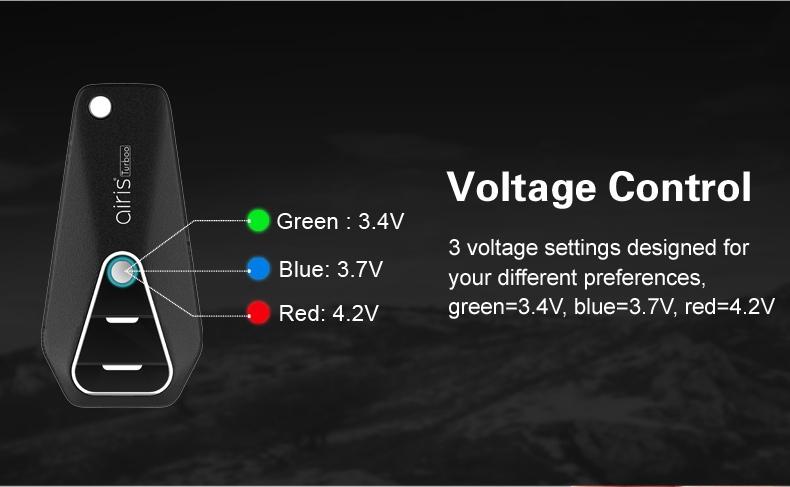 Airis Turboo Voltage Control