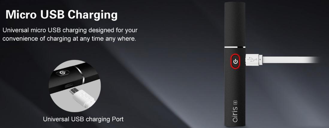 Airistech Airis 8 Kit USB charging