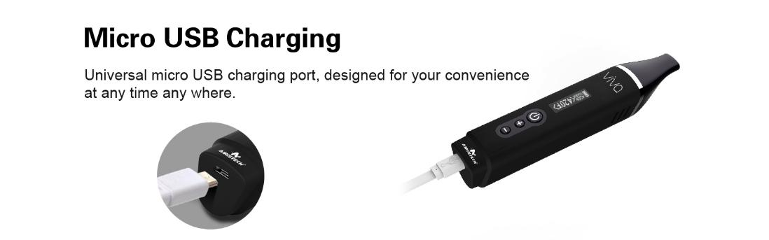 Airistech Herbva Viva Kit charging