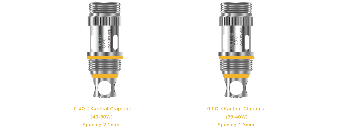 Aspire Atlantis Evo Tank 2ml features