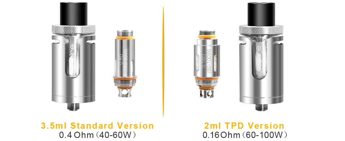 Aspire Cleito EXO Tank features