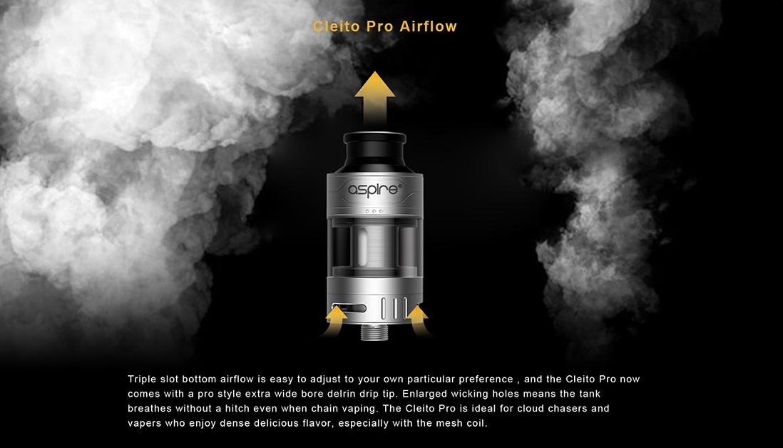 Aspire Cleito Pro Airflow