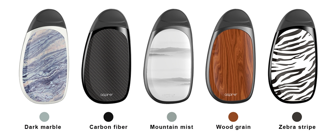 Aspire Cobble AIO Kit Colors