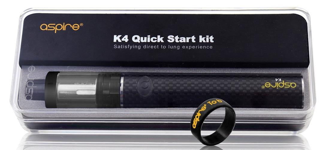 Aspire K4 Quick Start Kit package