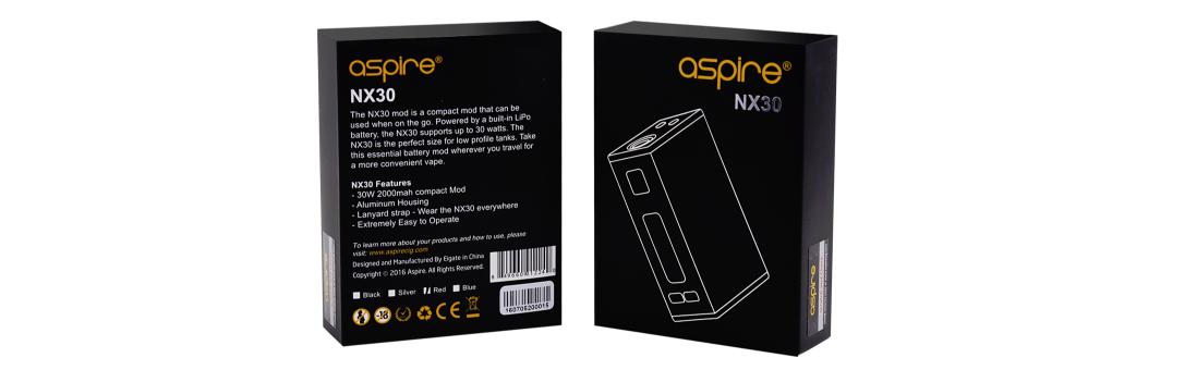 Aspire NX30 Mod package