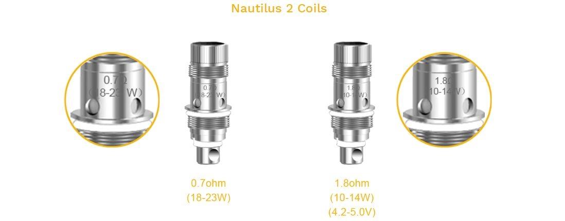 Aspire Nautilus 2 Tank 1