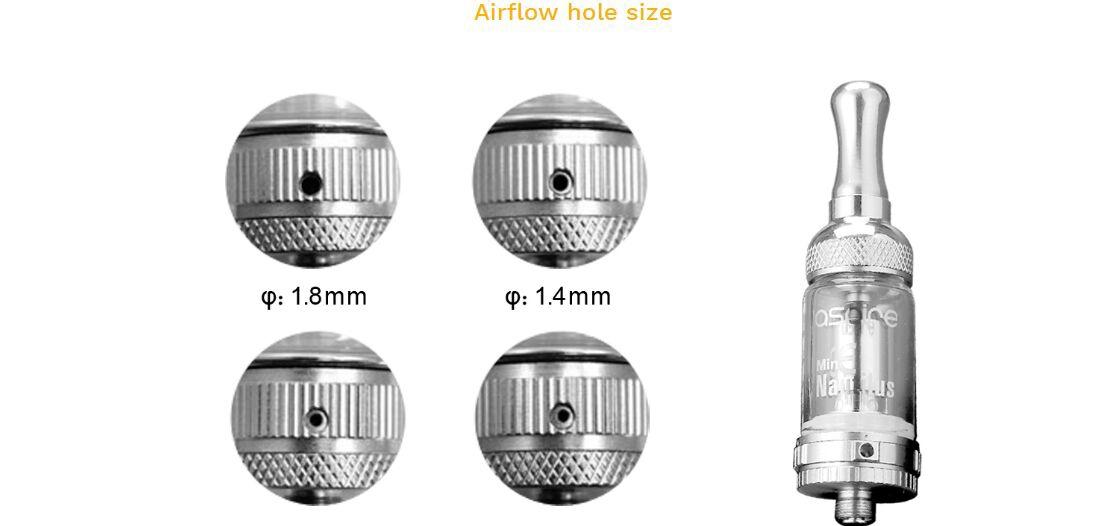Aspire Nautilus Mini Atomizer features
