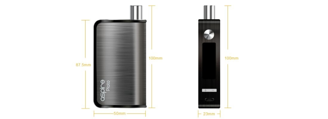 Aspire Plato Kit parameters