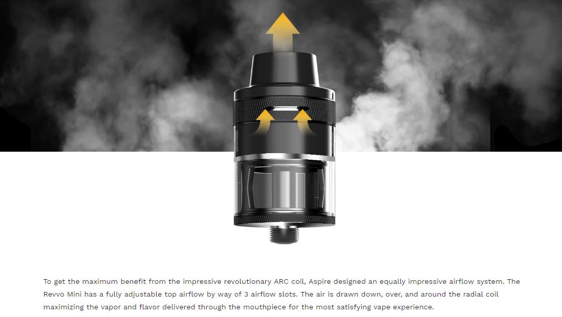Aspire Revvo Mini Airflow