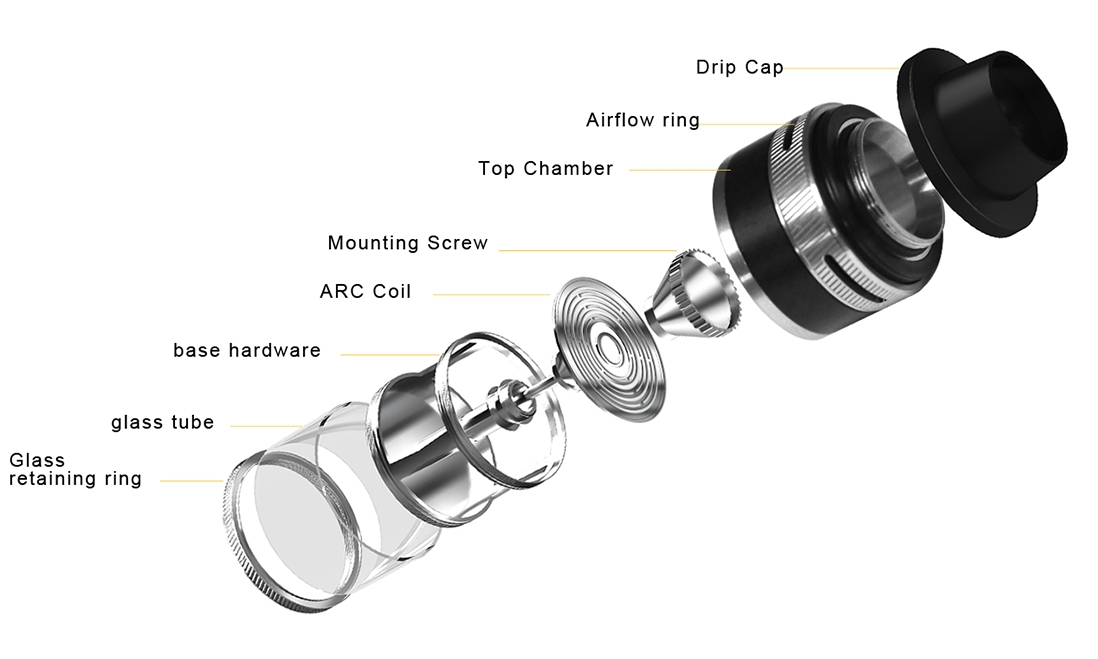 Aspire Revvo Mini Tank Components